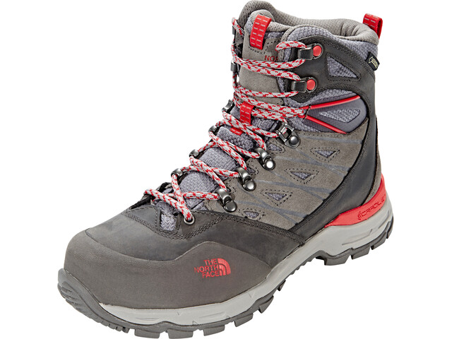 The North Face Hedgehog Trek GTX Boots Dame dark gull grey/melon red